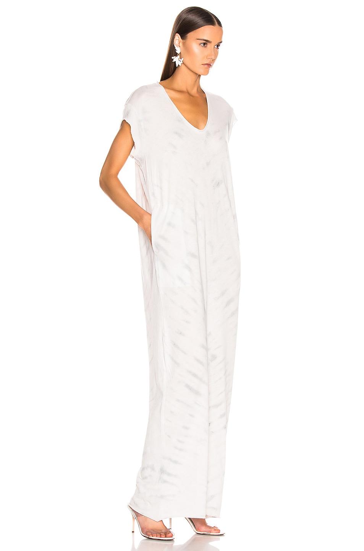 Image 2 of Raquel Allegra for FWRD Caftan Dress in Air Tie Dye
