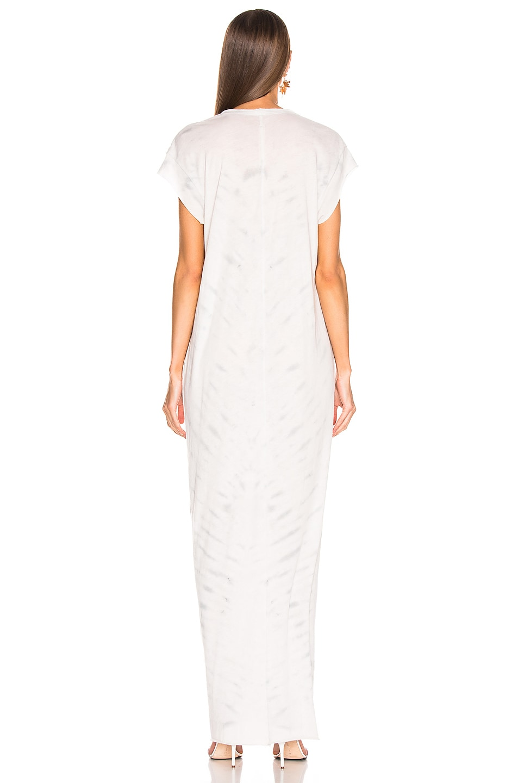 Image 3 of Raquel Allegra for FWRD Caftan Dress in Air Tie Dye