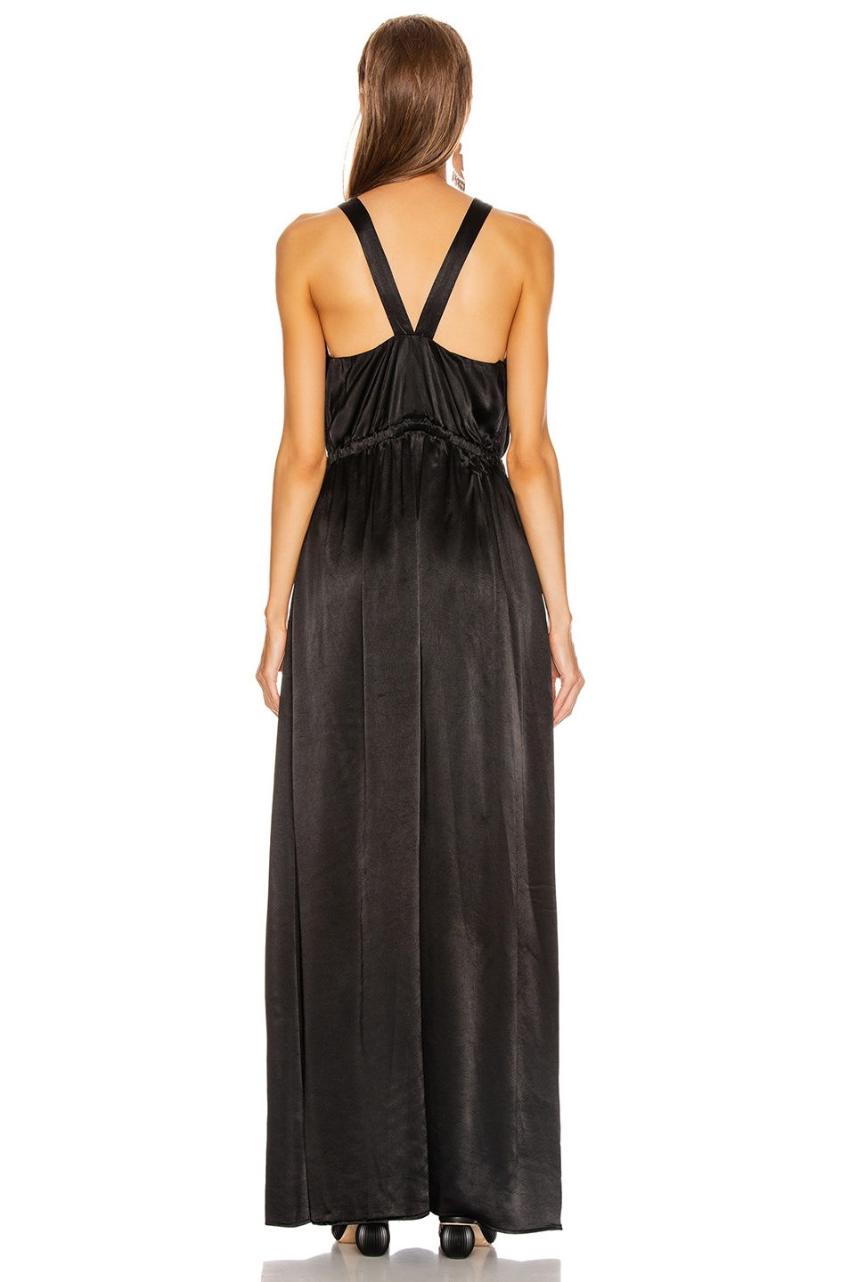 Image 3 of Raquel Allegra Keyhole Dress in Black