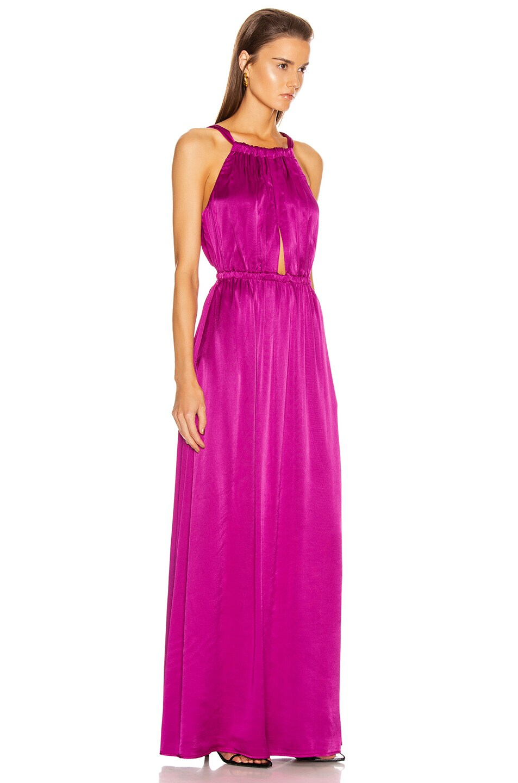 Image 2 of Raquel Allegra Keyhole Dress in Dahlia