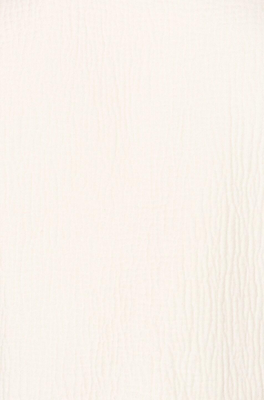 Image 7 of Raquel Allegra Cropped Blazer in Dirty White