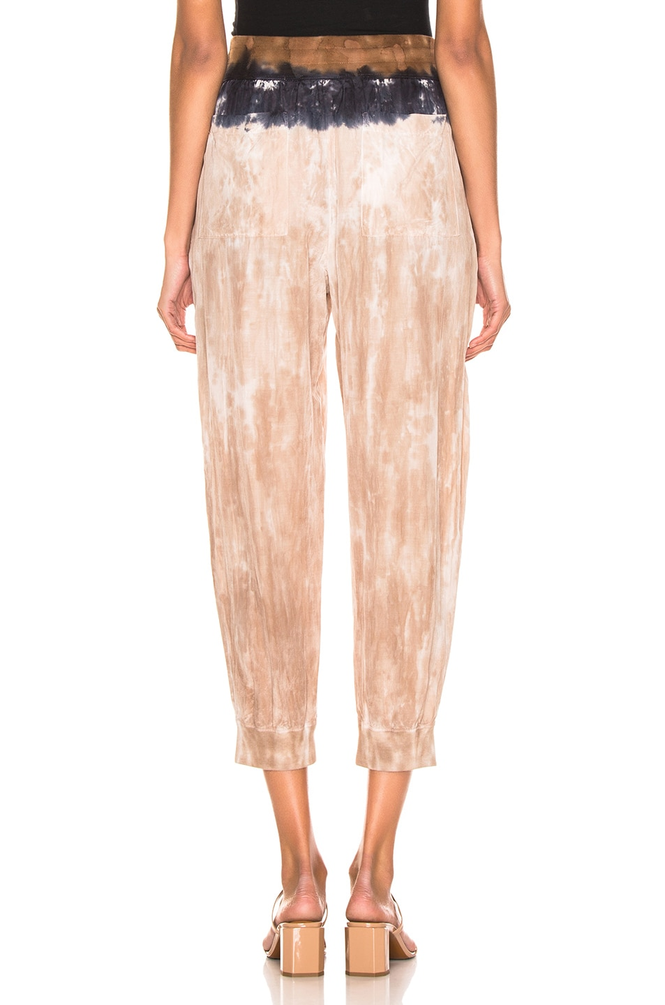 Image 3 of Raquel Allegra Drawstring Pant in Cave Stripe