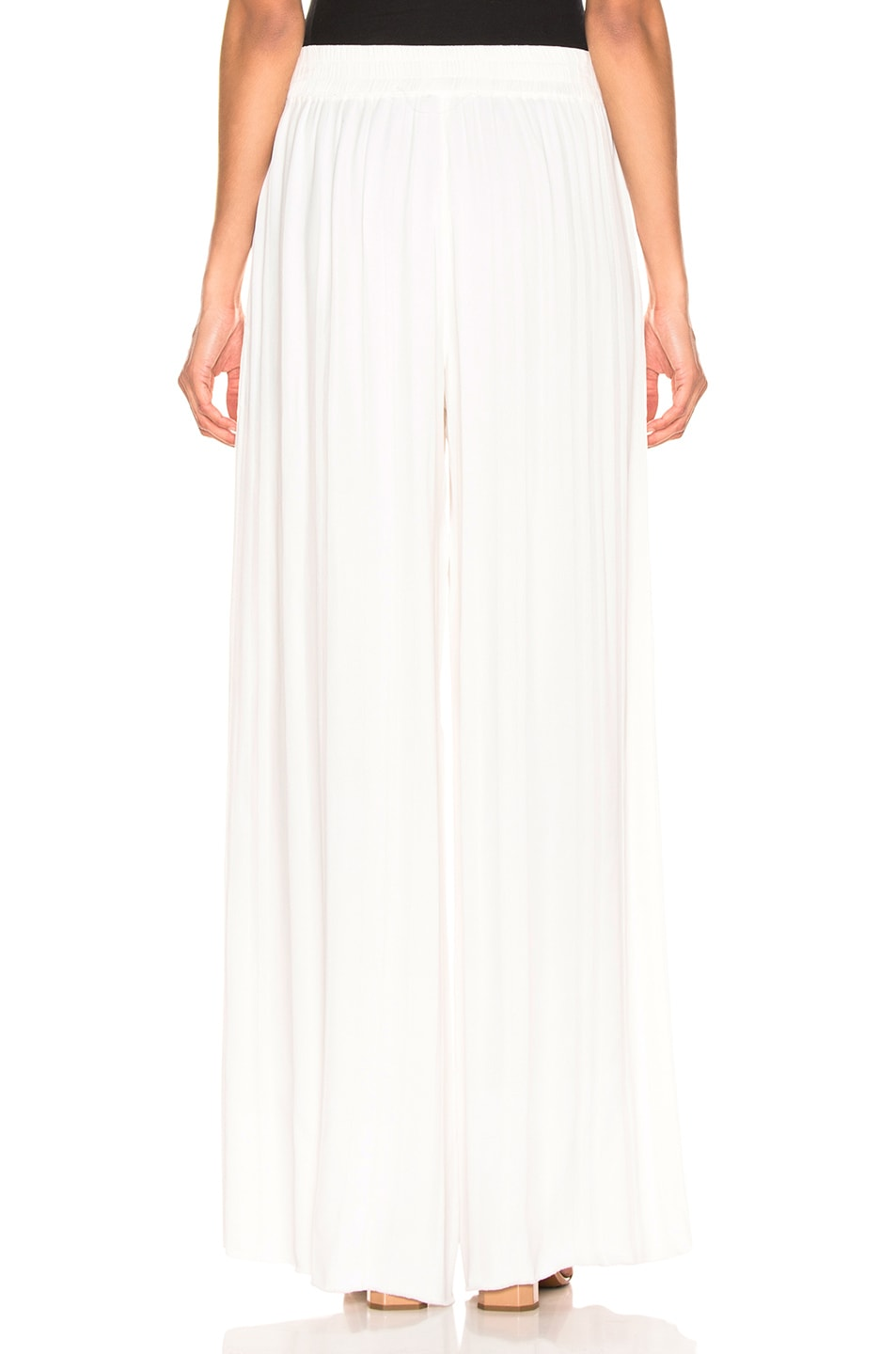 Image 3 of Raquel Allegra Wide Leg Pant in Ivory