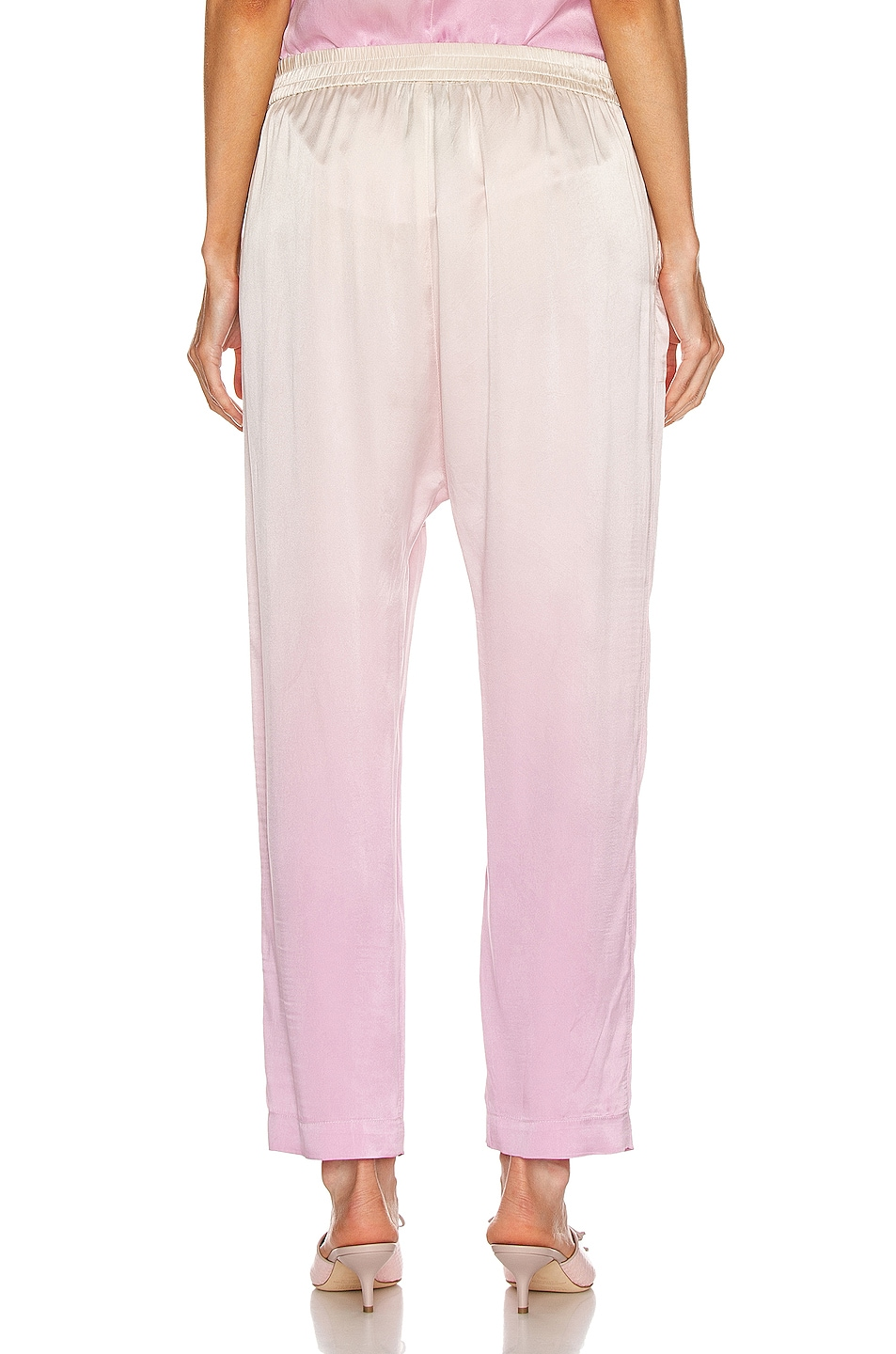 Image 3 of Raquel Allegra Sunday Pant in Orchid Tie Dye