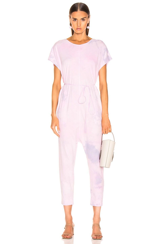 Image 1 of Raquel Allegra Jumpsuit in Lavender Tie Dye