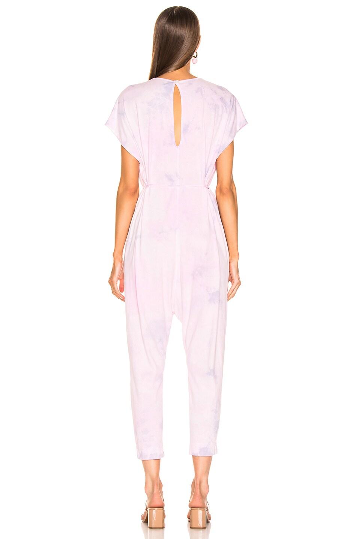 Image 3 of Raquel Allegra Jumpsuit in Lavender Tie Dye