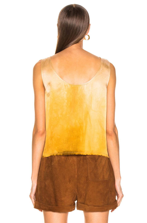 Image 3 of Raquel Allegra Low Back Tank in Golden Sun Tie Dye