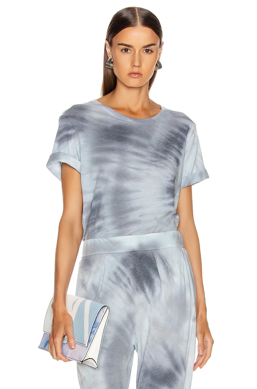 Image 1 of Raquel Allegra Boxy Tee in Lunar Tie Dye