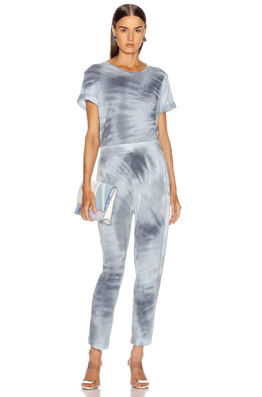 Image 4 of Raquel Allegra Boxy Tee in Lunar Tie Dye