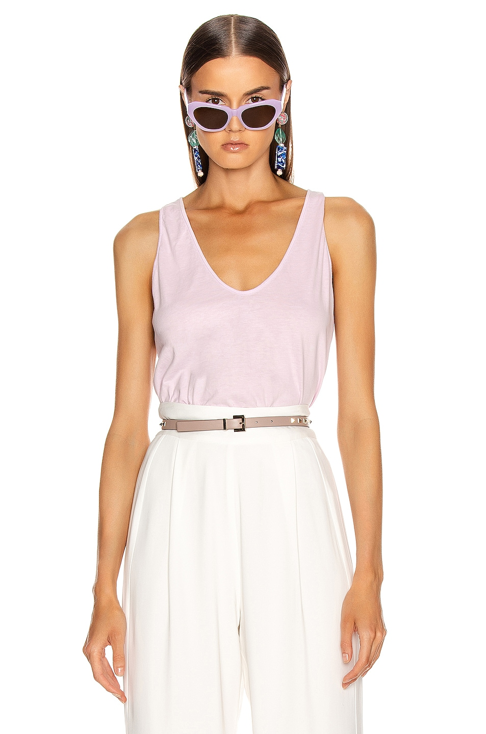 Image 1 of Raquel Allegra Perfect Tank in Orchid