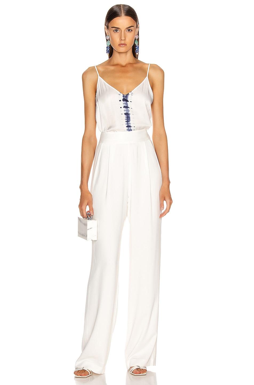 Image 4 of Raquel Allegra Little Cami in White Tie Dye