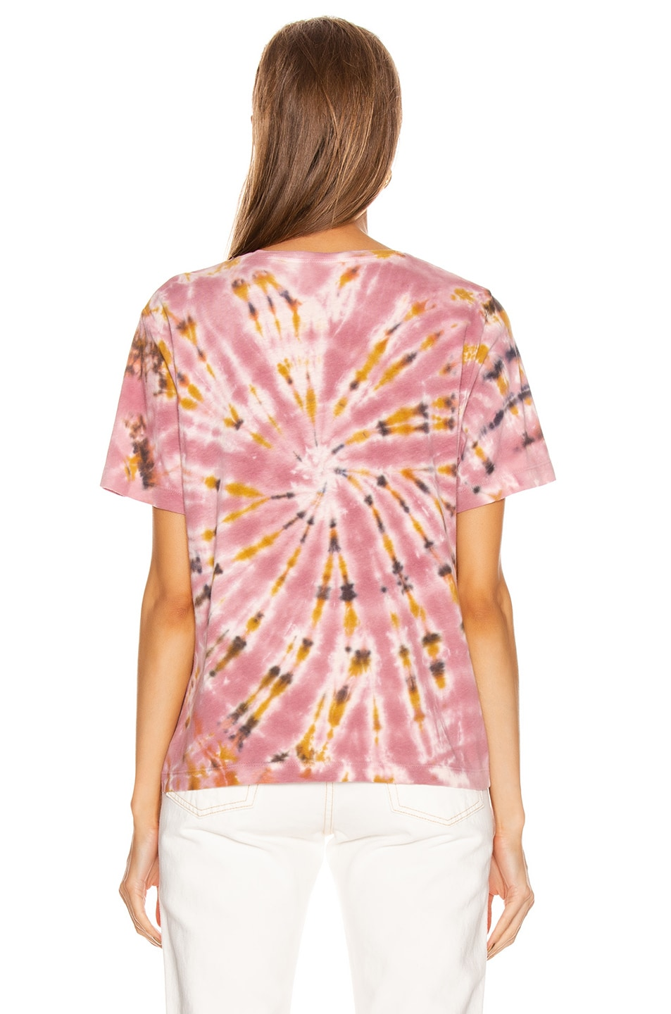 Image 3 of Raquel Allegra Boxy Tee in Pink Eclipse