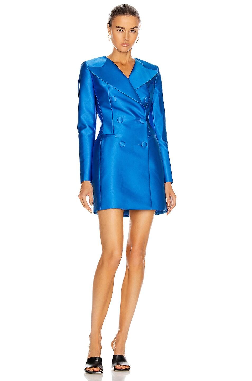 Image 1 of RASARIO Jacket Dress in Blue