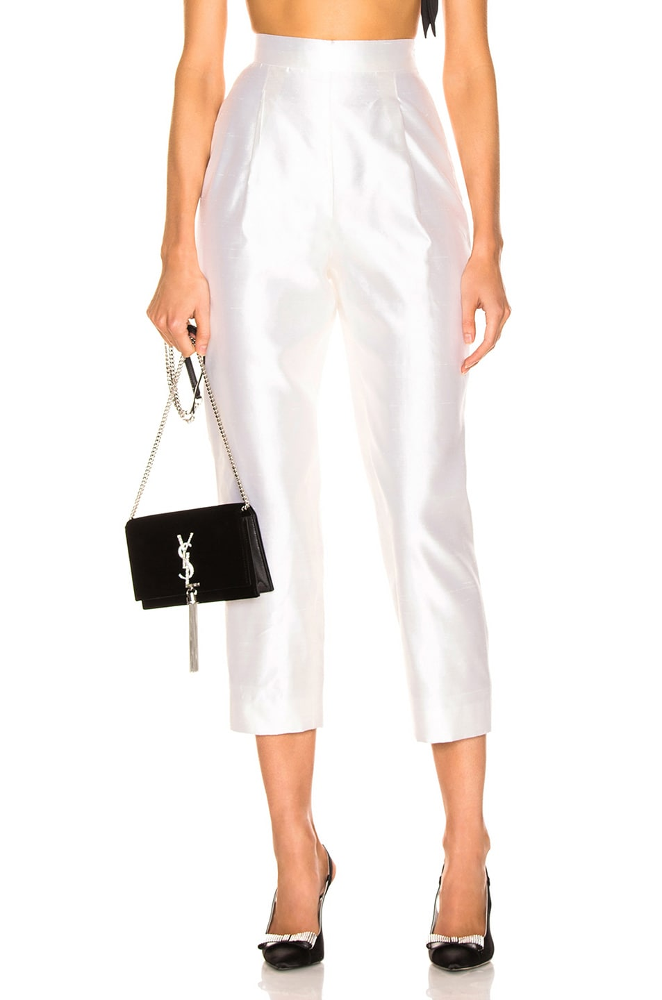 Image 1 of RASARIO Cropped Pant in White