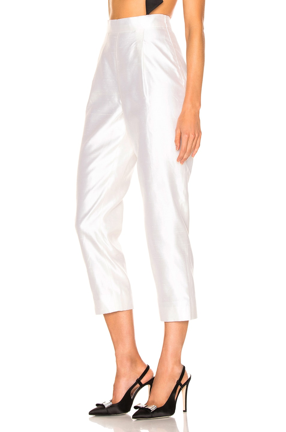 Image 3 of RASARIO Cropped Pant in White
