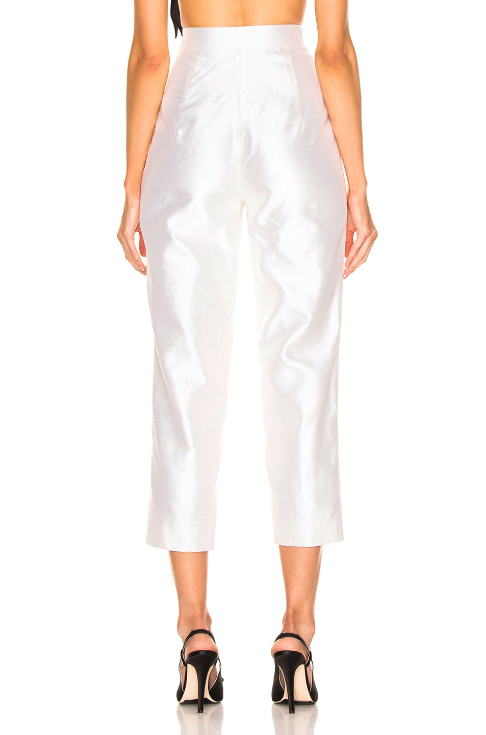 Image 4 of RASARIO Cropped Pant in White