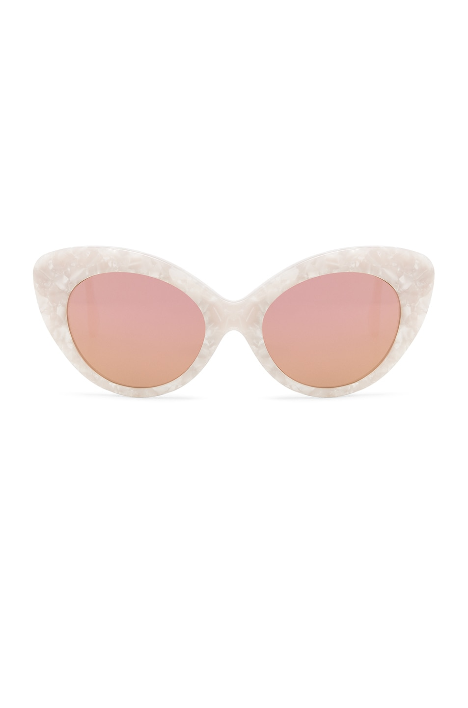 Image 1 of Roberi and Fraud Agnes Sunglasses in White