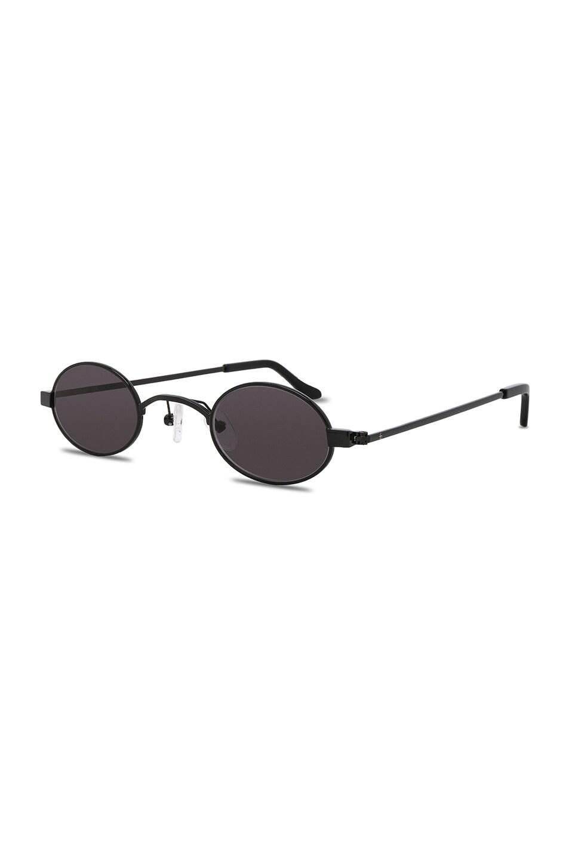 Image 2 of Roberi and Fraud Doris Sunglasses in Black