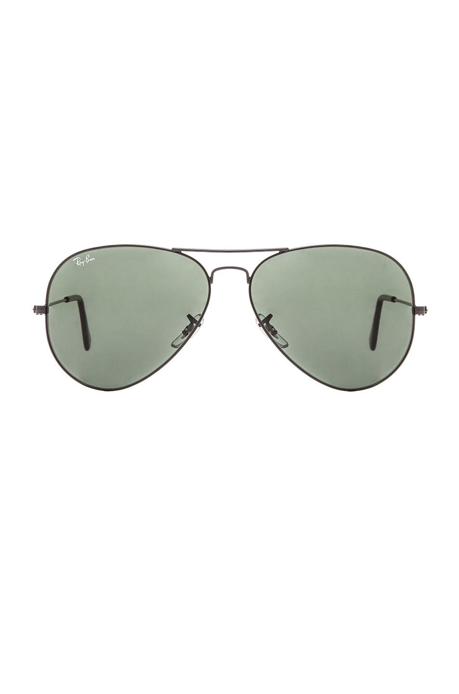 Image 1 of Ray-Ban Aviator Large Metal II Sunglasses in Black