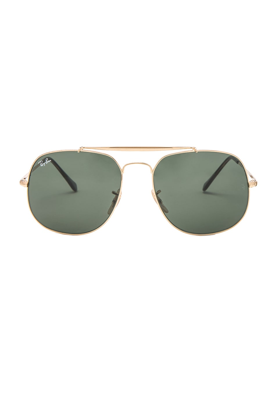 Image 1 of Ray-Ban General Sunglasses in Gold & Green