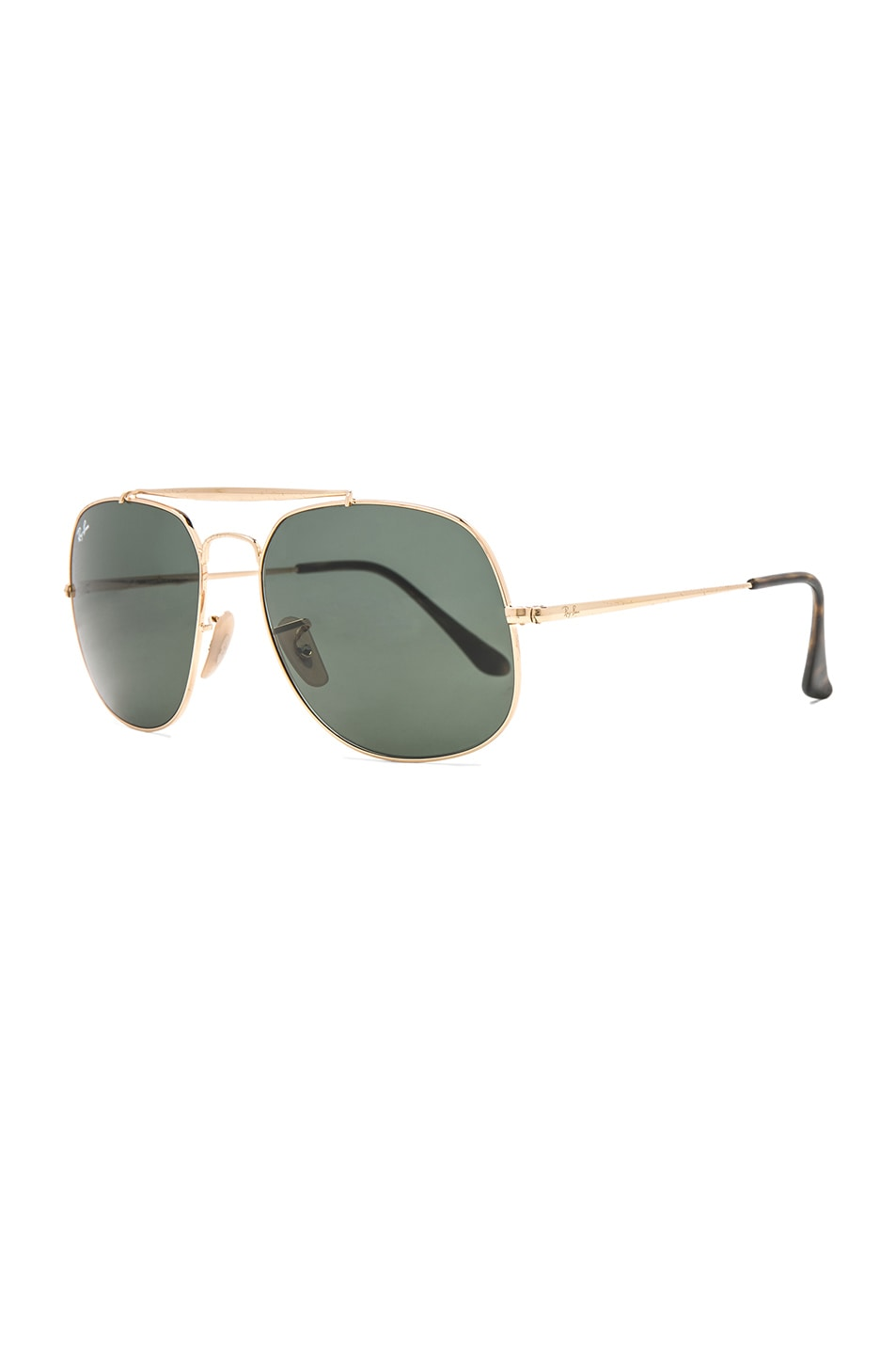Image 2 of Ray-Ban General Sunglasses in Gold & Green