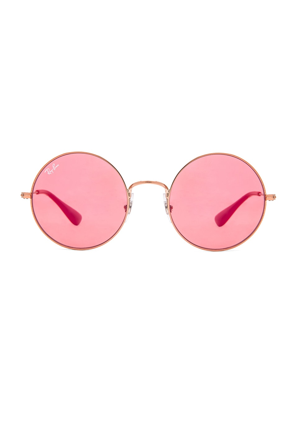 Image 1 of Ray-Ban Round Sunglasses in Shiny Copper