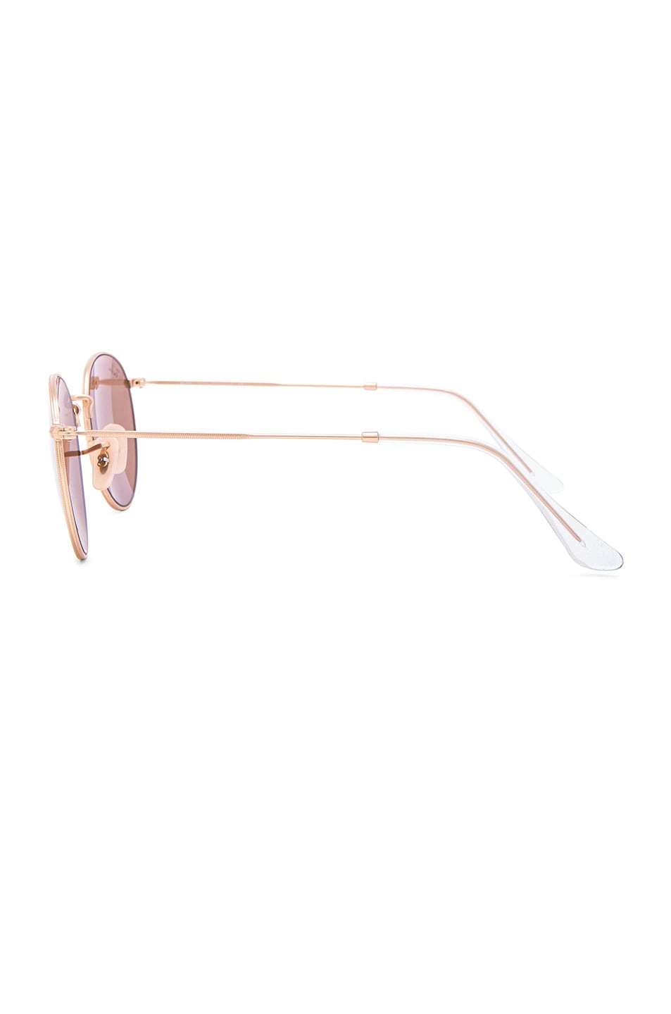 Image 3 of Ray-Ban Round Sunglasses in Matte Gold
