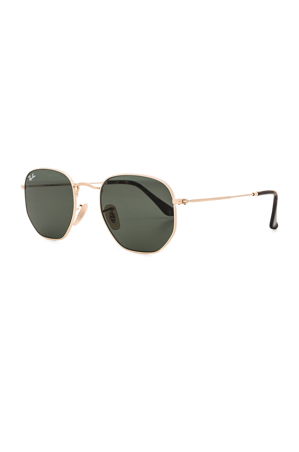 Image 2 of Ray-Ban Hexagon Sunglasses in Gold