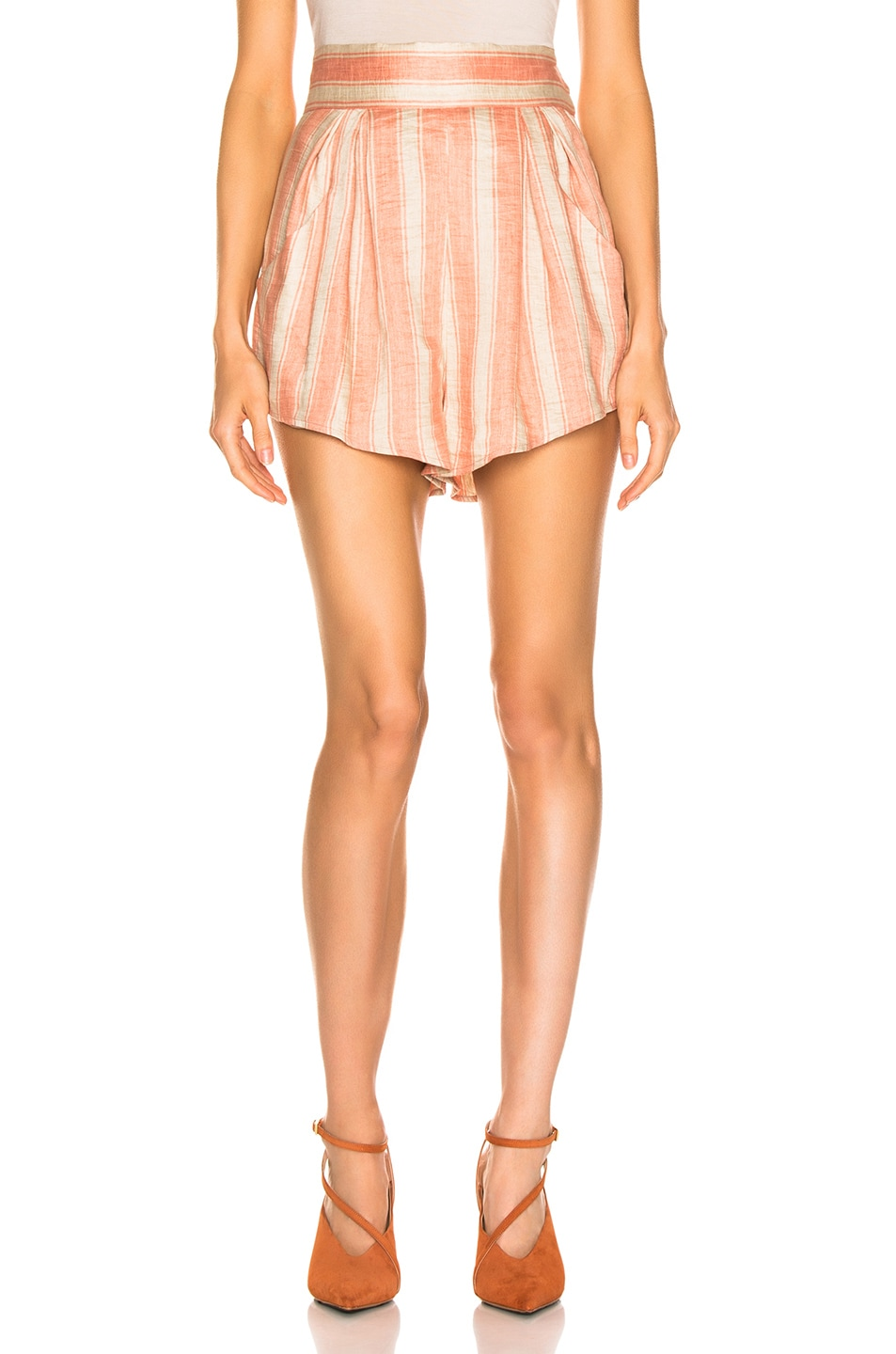 Image 1 of Rachel Comey Oblige Short in Blush