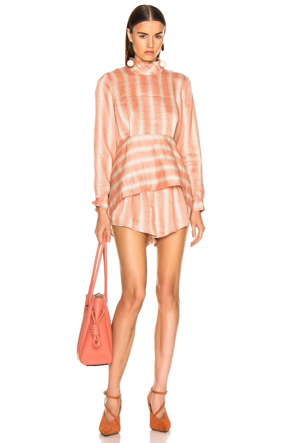 Image 4 of Rachel Comey Oblige Short in Blush