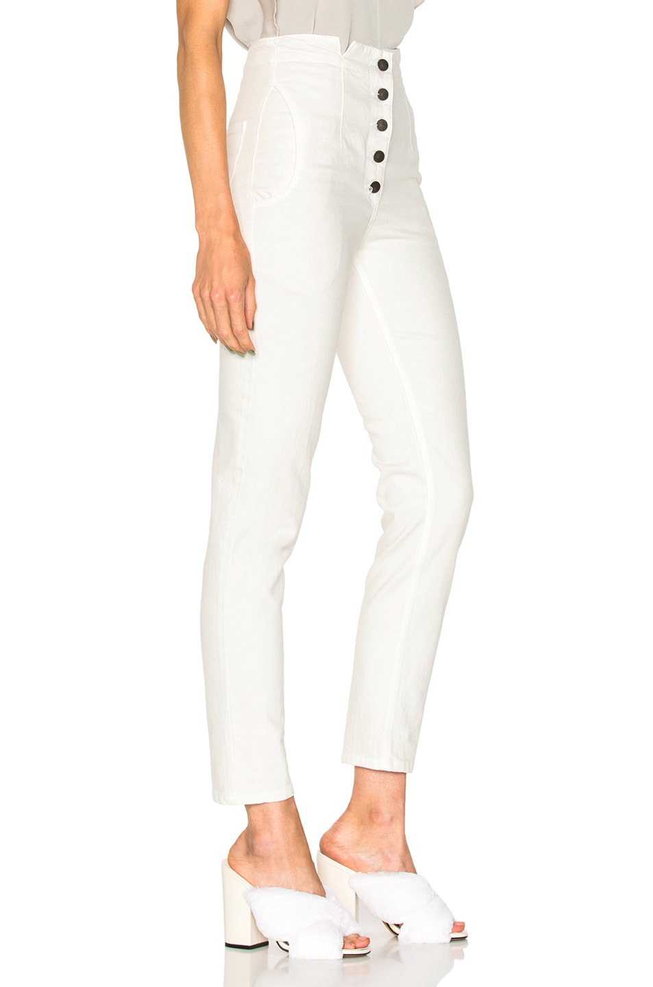 Image 2 of Rachel Comey Dock Pant in Dirty White