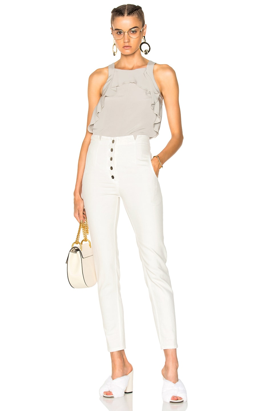 Image 4 of Rachel Comey Dock Pant in Dirty White