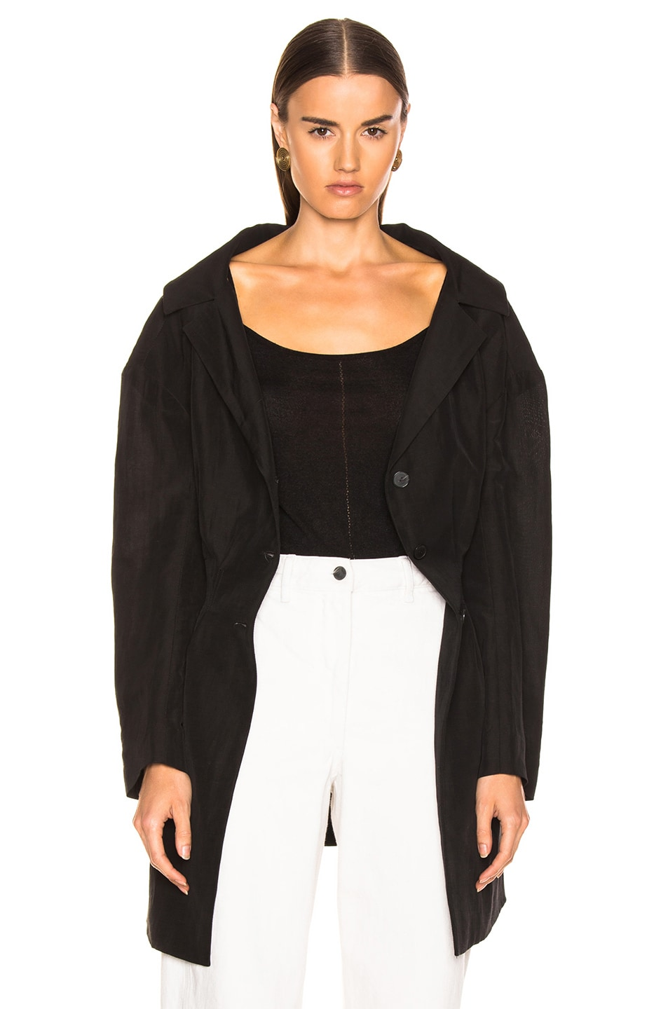 Image 3 of Rachel Comey Reserve Jacket in Black