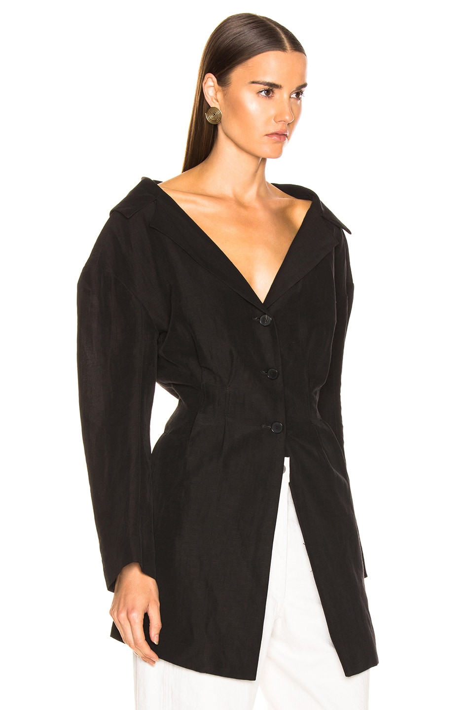Image 4 of Rachel Comey Reserve Jacket in Black