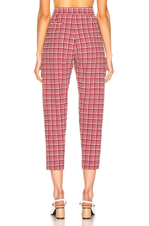 Image 3 of Rachel Comey Flat Westside Pant in Crimson