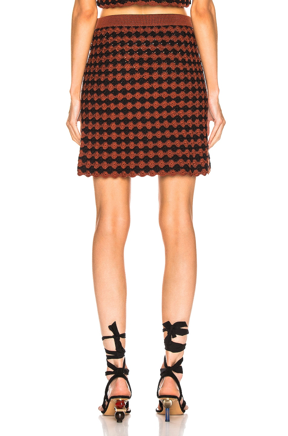 Image 3 of Rachel Comey Spore Skirt in Brown