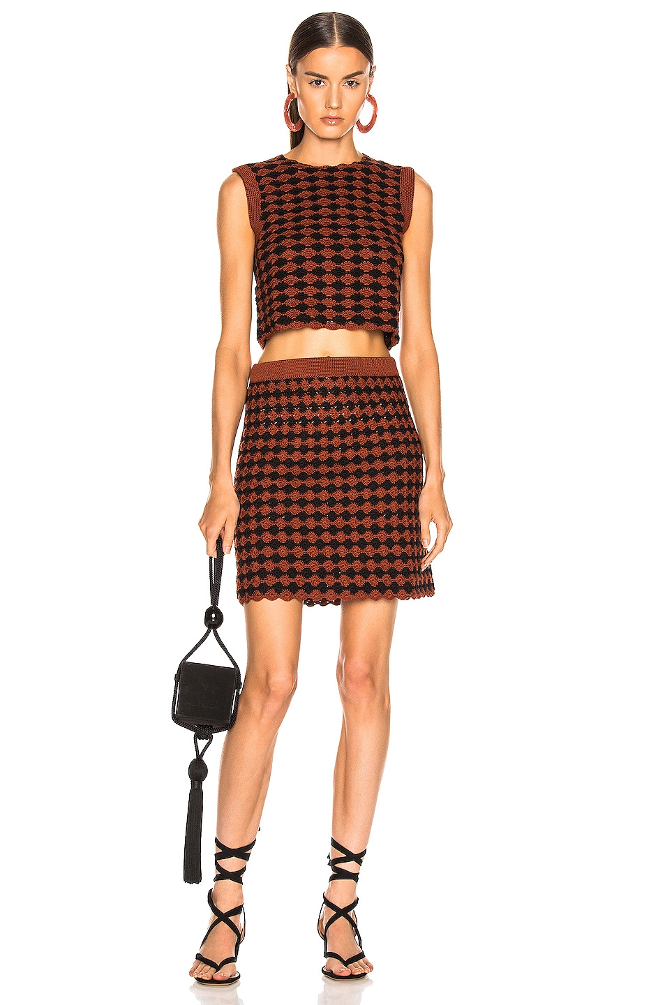 Image 4 of Rachel Comey Spore Skirt in Brown