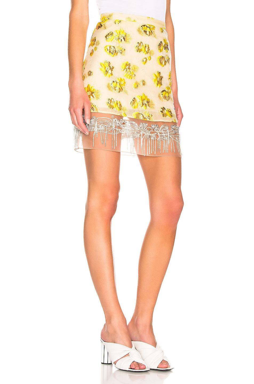 Image 2 of Rachel Comey Devium Skirt in Citron