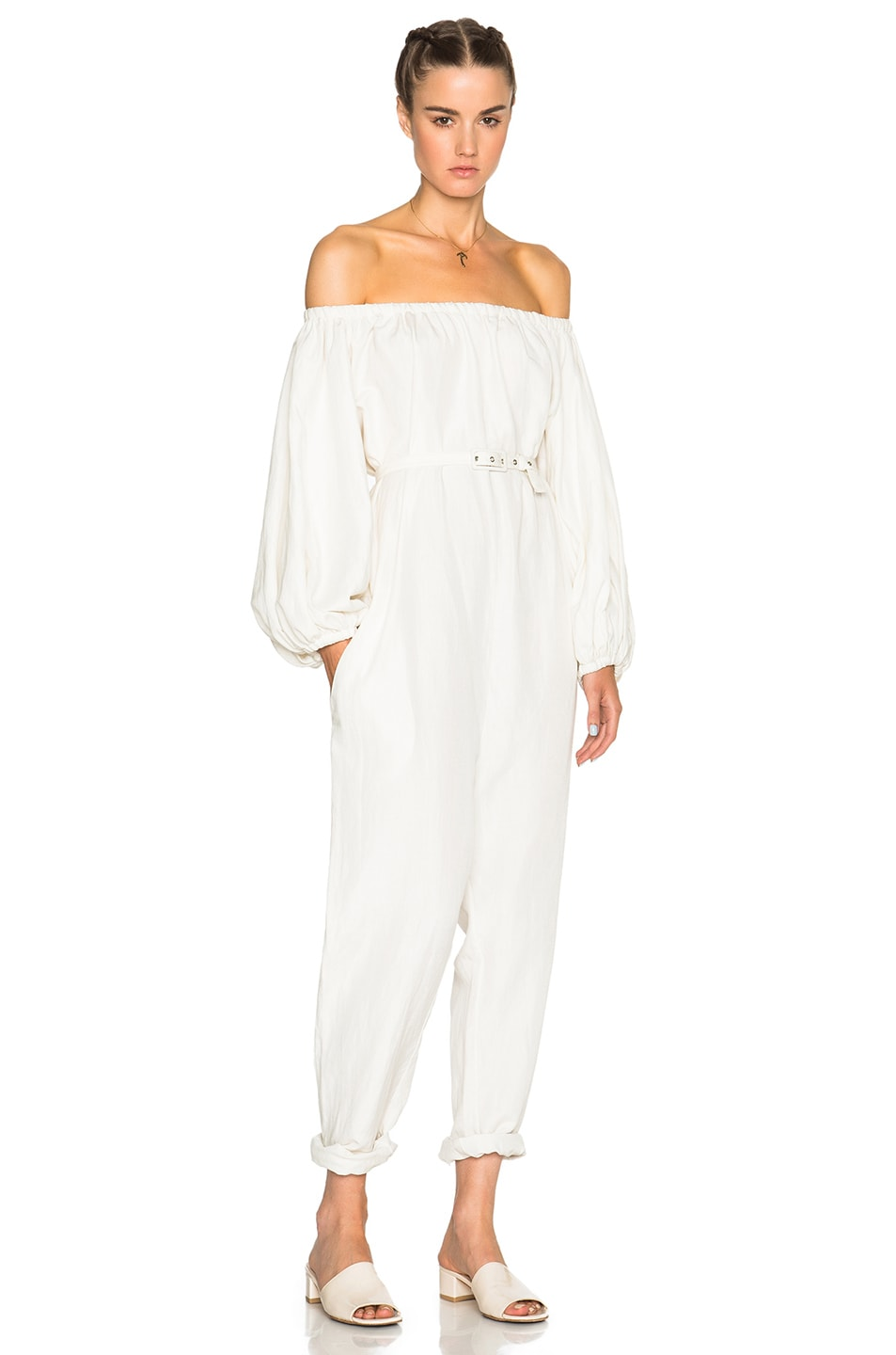 Image 1 of Rachel Comey Solin Jumpsuit in Ivory