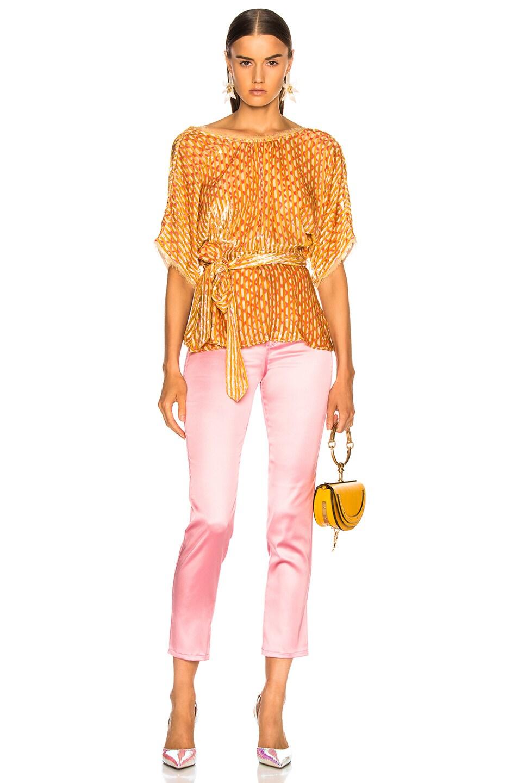 Image 4 of Rachel Comey Weekend Top in Yellow