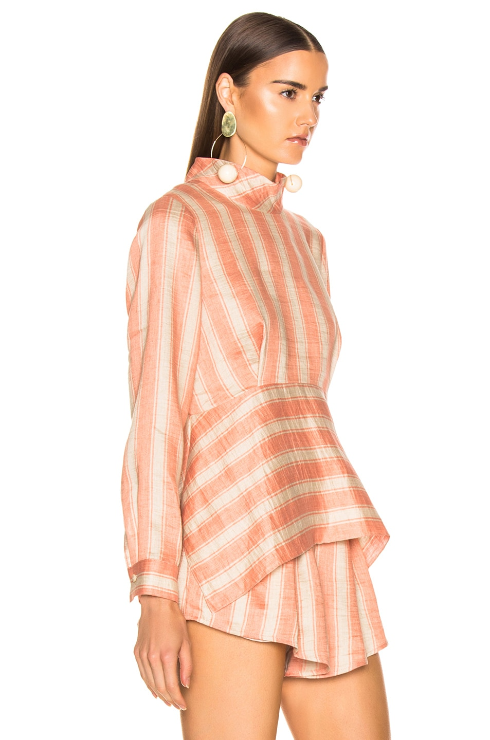 Image 2 of Rachel Comey Cultivate Top in Blush