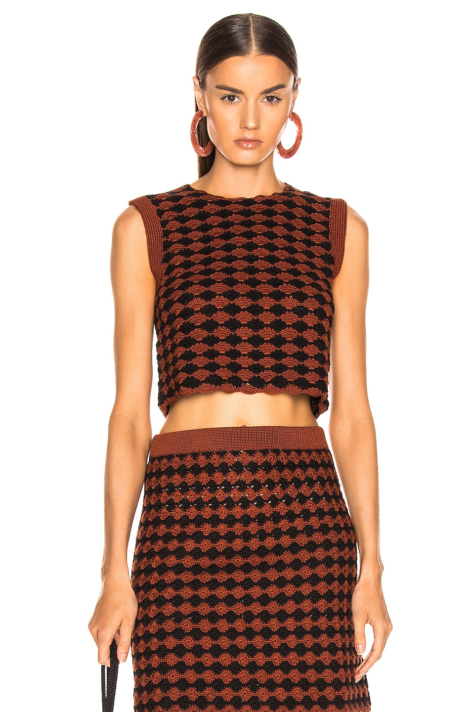 Image 1 of Rachel Comey Sedum Top in Brown