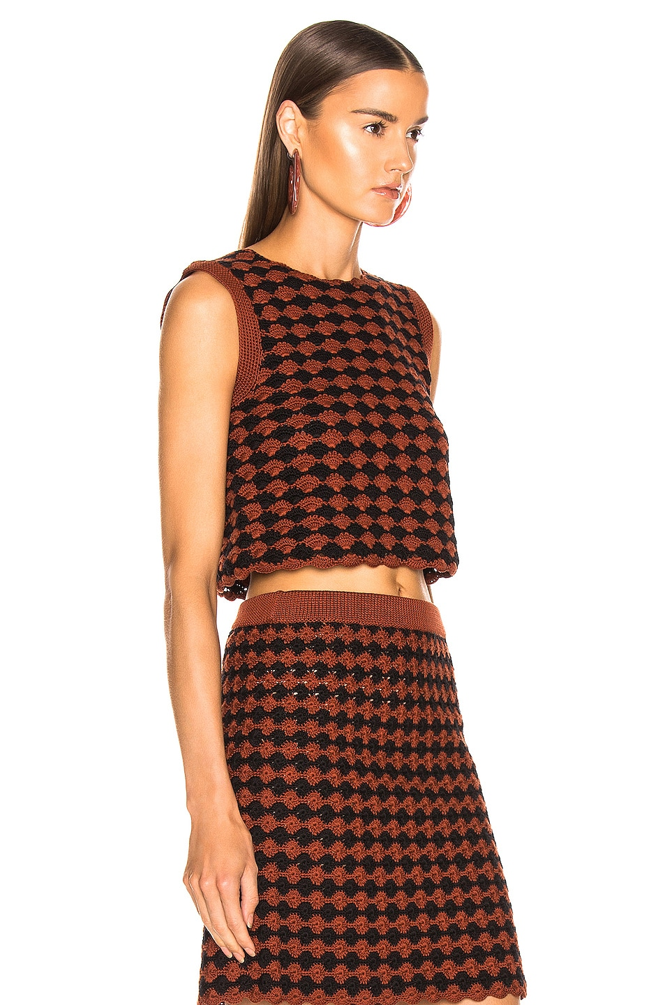 Image 2 of Rachel Comey Sedum Top in Brown