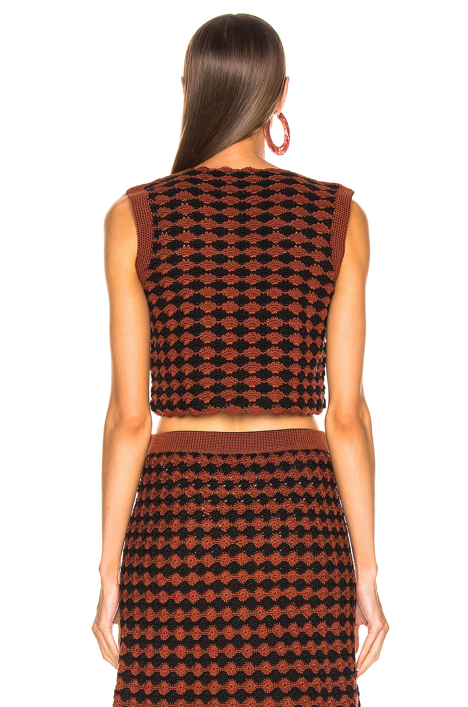 Image 3 of Rachel Comey Sedum Top in Brown