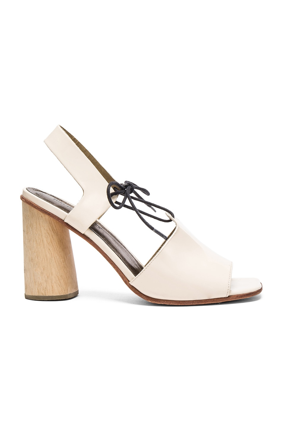 Image 1 of Rachel Comey Patent Leather Melrose Heels in Creamsicle Patent