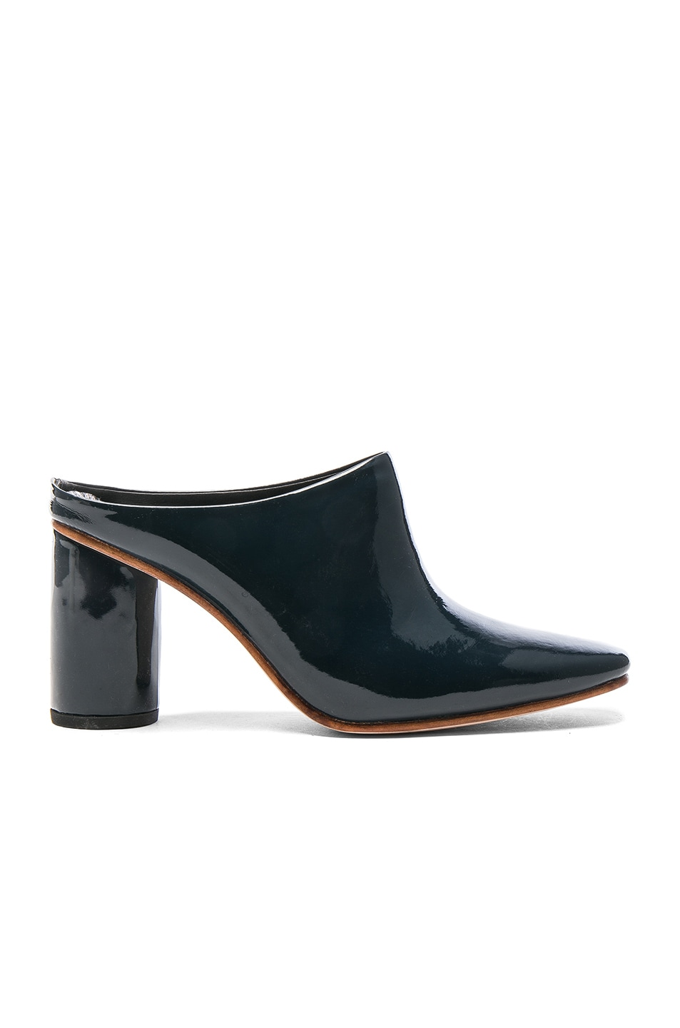 Image 1 of Rachel Comey Patent Leather Scarpa in Space Patent