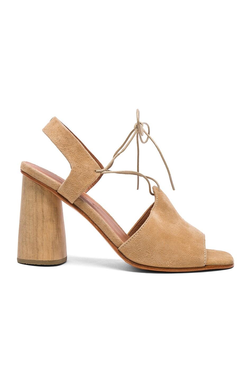 Image 1 of Rachel Comey Suede Melrose Heels in Sand Suede