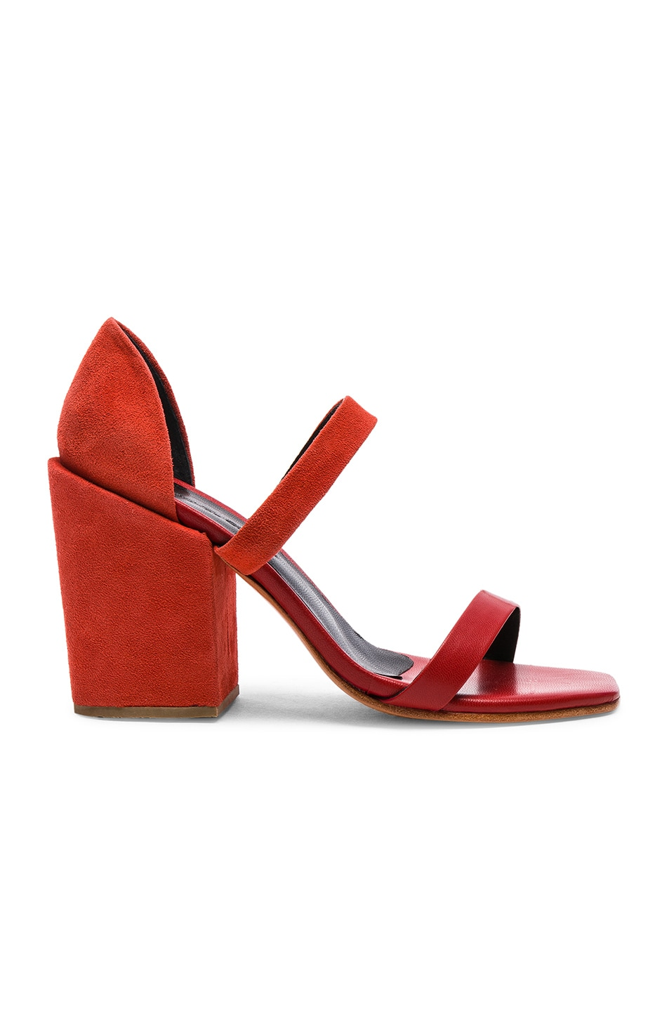 RACHEL COMEY LICO HEEL IN ORANGE