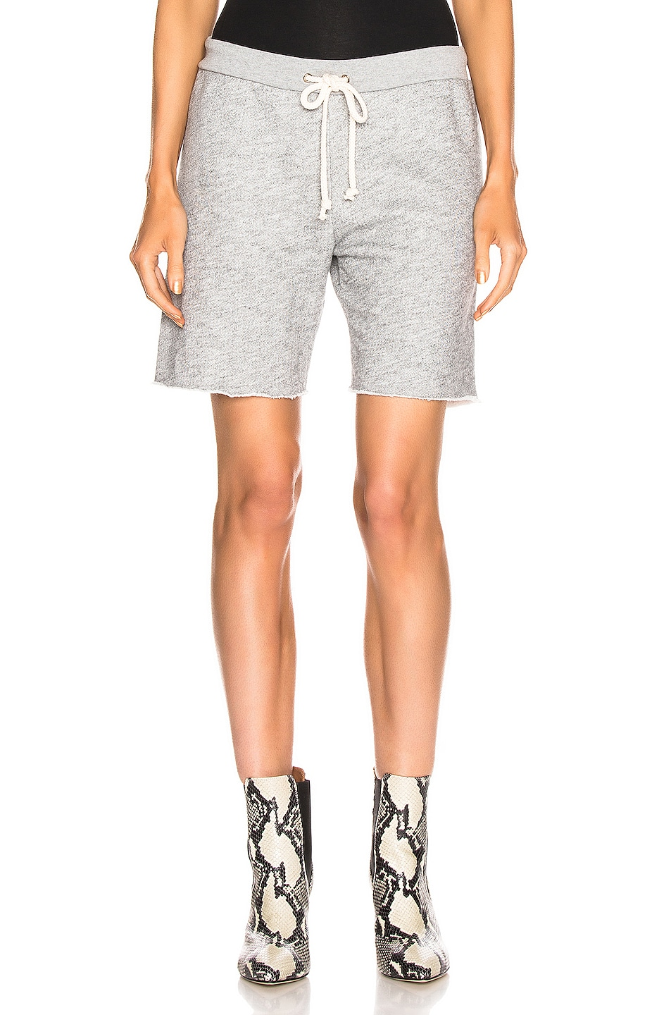 Image 1 of RE/DONE 70's Short in Heather Grey