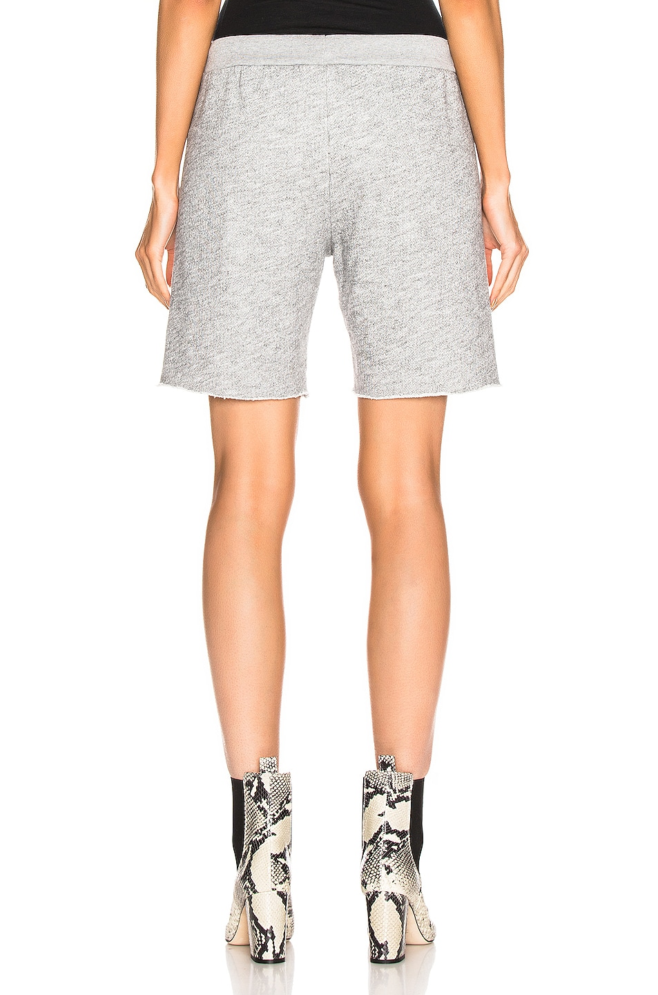 Image 3 of RE/DONE 70's Short in Heather Grey